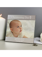 Personalised Christening Day Square 6x4 Photo Frame