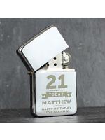 Personalised Birthday Star Lighter