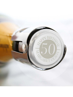 Personalised Big Number Bottle Stopper