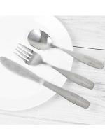 Personalised 3 Piece Swirls & Hearts Cutlery Set