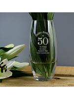 Personalised Happy Birthday Bullet Vase