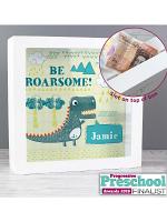 Personalised Dinosaur Fund and Keepsake Box
