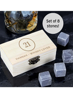 Personalised Birthday Whisky Stones