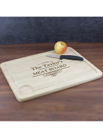 Personalised Decorative Swirl Meat Carving Board