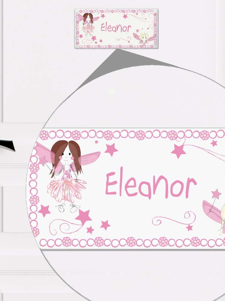 Personalised Fairy Letter Door Plaque
