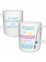 Personalised Fishing King Mug
