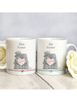 Personalised Me To You Wedding Couple Mug Set