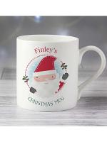 Personalised Santa Claus Balmoral Mug