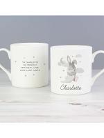 Personalised Baby Bunny Balmoral Mug