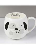 Personalised Cute Dog Shape Mug
