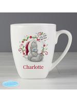 Personalised Me to You Christmas Latte Mug