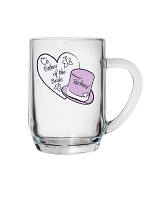 Personalised Butterfly Hats Wedding Tankard