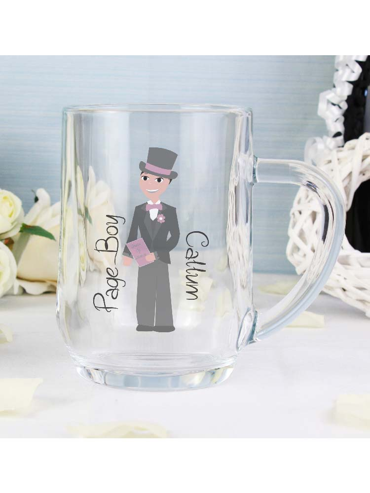 Personalised Fabulous Page Boy Tankard