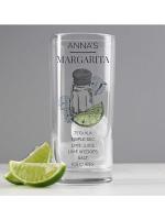 Personalised Margarita Hi Ball Cocktail Glass