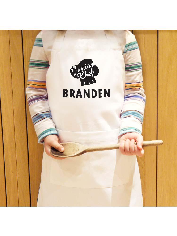 Personalised Junior Chef Children's Apron
