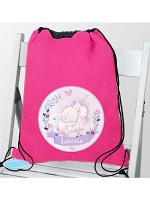Personalised Tiny Tatty Teddy Unicorn Swim & School Bag