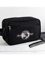 Personalised Beard Things Black Vanity Bag