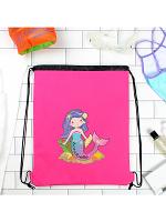 Personalised Mermaid Pink Swim Bag