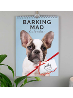 Personalised A4 Barking Mad Calendar
