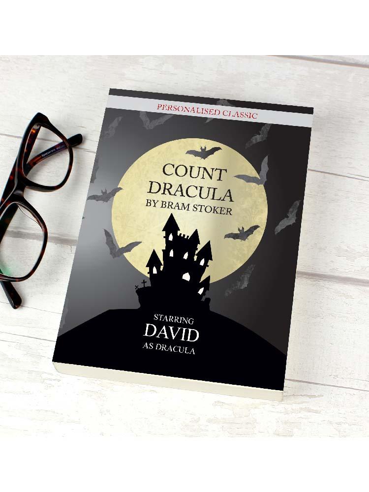 Personalised Dracula Novel - 6 Characters