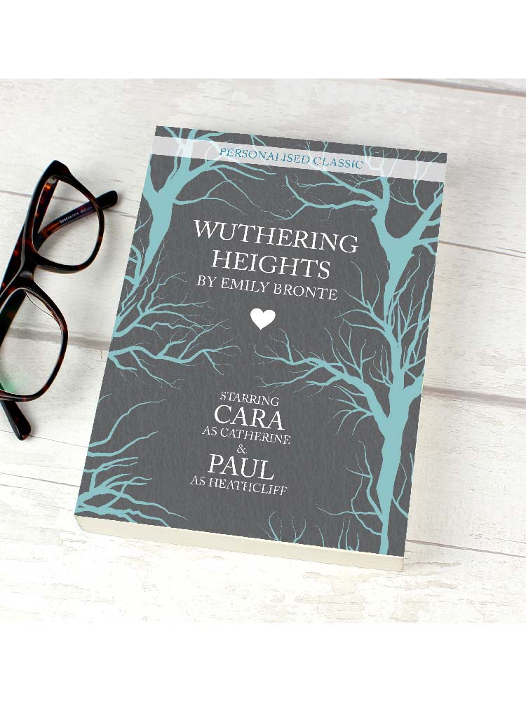 Personalised Wuthering Heights Novel - 6 Characters
