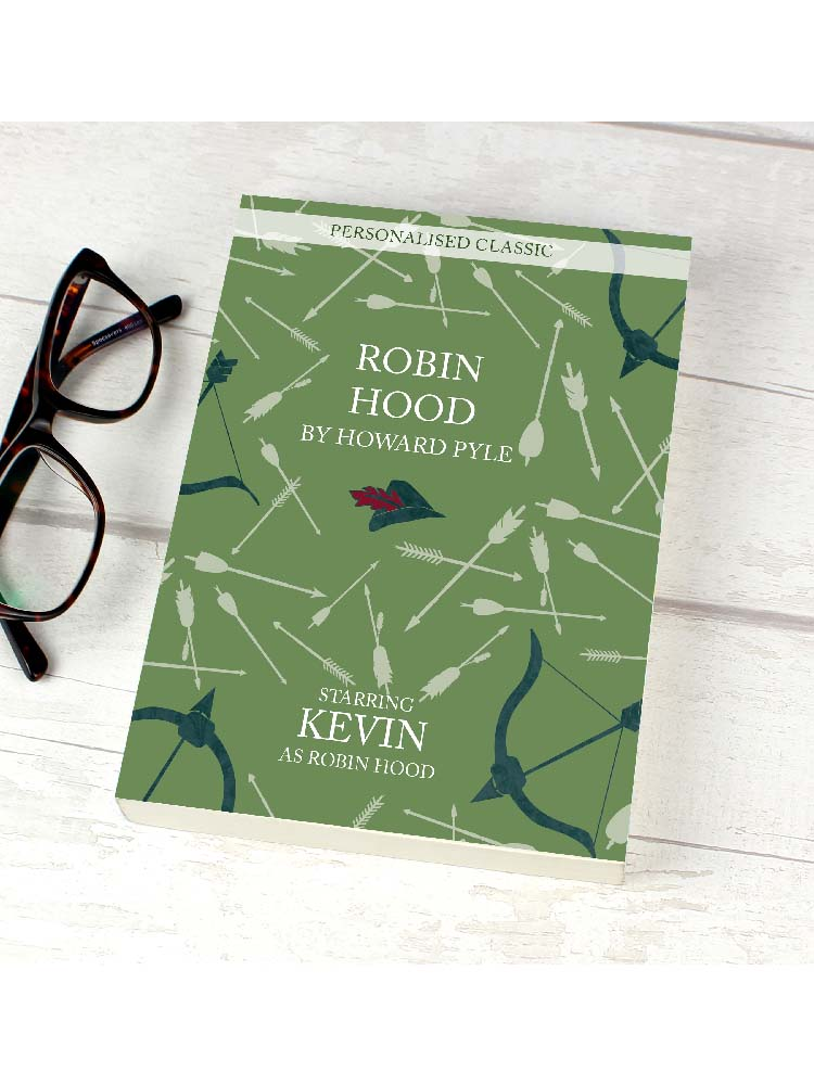 Personalised Robin Hood Novel - 6 Characters