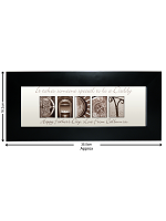 Personalised Affection Art Daddy Small Frame