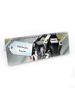 Personalised Vehicles Desk Calendar