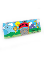 Personalised Zoo Desk Calendar