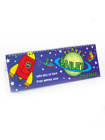 Personalised Space Desk Calendar