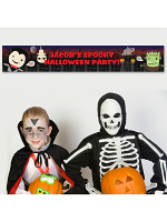 Personalised Halloween Banner