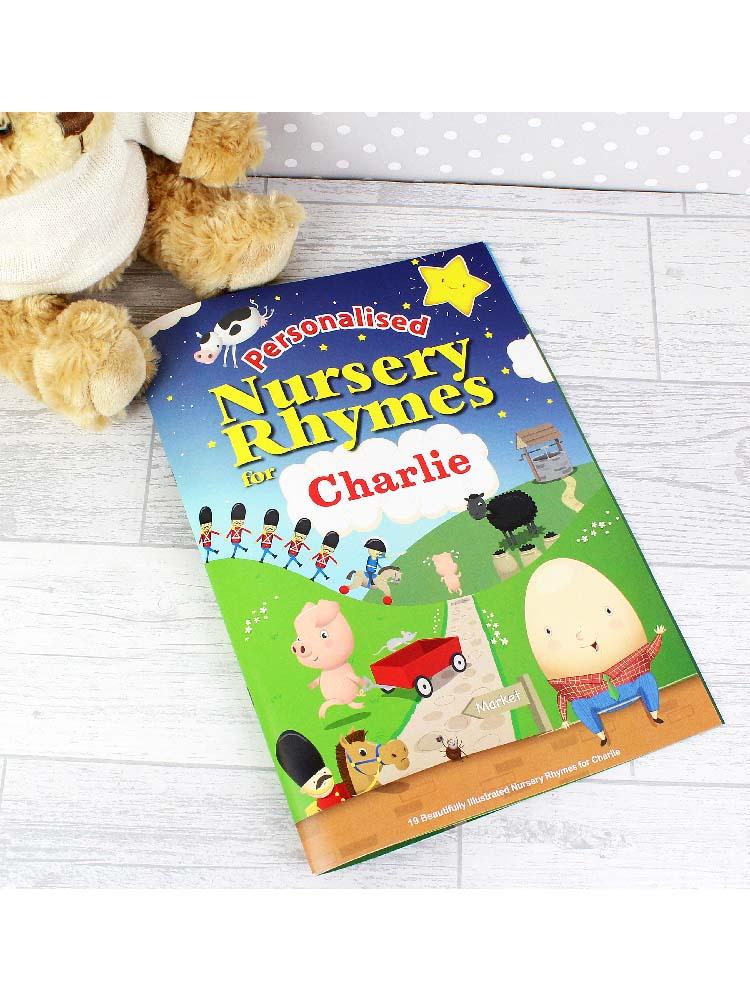 Personalised Nursery Rhyme Book