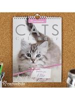 Personalised Rachael Hale A4 Cats Calendar