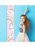 Personalised Baby Unicorn Height Chart