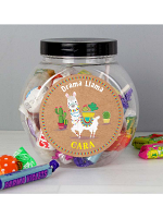 Personalised Llama Sweet Jar