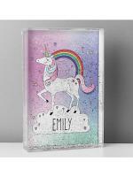 Personalised Unicorn Glitter Shaker