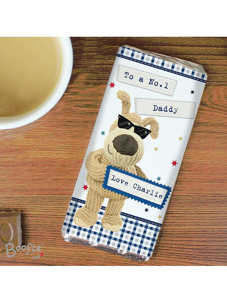 Personalised Boofle Stars Milk Chocolate Bar