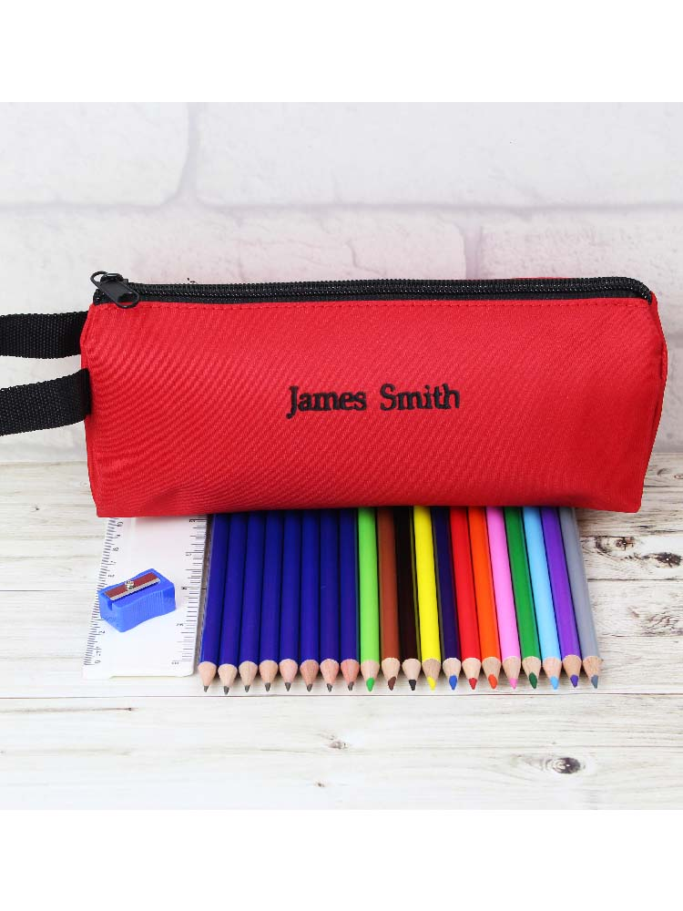 Red Case and None Personalised Contents