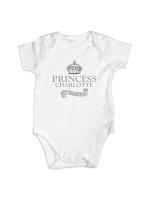 Personalised Royal Crown Baby Vest
