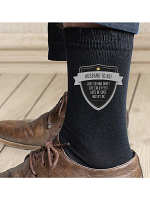Personalised Classic Shield Men's Socks