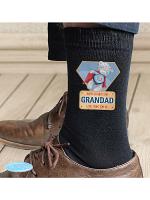 Personalised Me To You Super Hero Mens Socks
