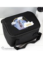 Personalised Rachael Hale Dalmatian Black Lunch Bag