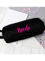 Personalised Pink Name Pencil Case