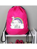 Personalised Unicorn Pink Kit Bag