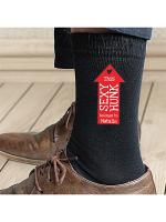 Personalised Sexy Hunk Mens Socks
