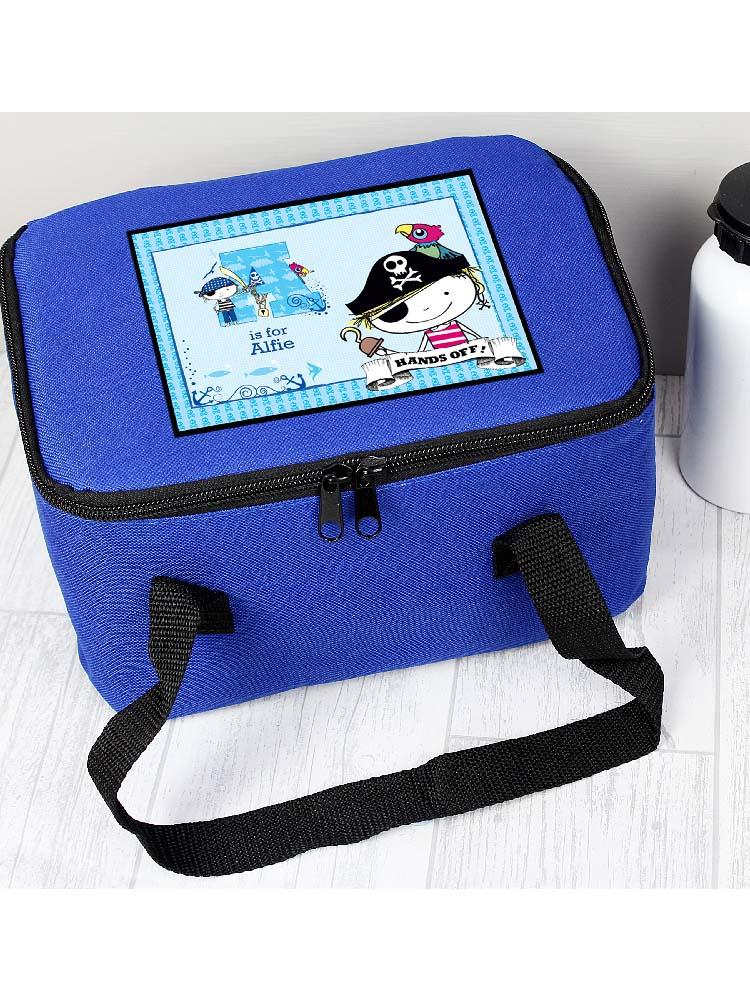 Personalised Pirate Lunch Bag
