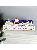 Personalised Make Your Own Santa Christmas Advent Countdown Kit