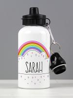 Personalised Rainbow Drinks Bottle