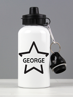 Personalised Star Drinks Bottle