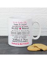 Personalised We Go Together Like.... Mug